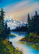 Ross Painting Originals - Peaceful Reflections by C Steele