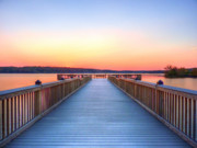 Alexandria Virginia Prints - Peaceful Spot Print by JC Findley