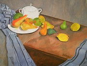 Peach Originals - Peaches And Apples by John Davis