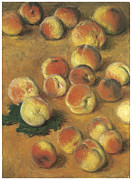 Peach Prints - Peaches Print by Claude Monet