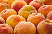 Peaches Photo Metal Prints - Peaches Metal Print by Elena Elisseeva