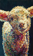 Ovine Paintings - Peaches by Patricia A Griffin