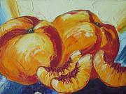 Peaches Study Print by Paris Wyatt Llanso