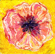 Regina Valluzzi - Peachy poppy miniature 2...