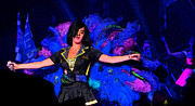 Katy Perry Art - Peacock by Marguerita Tan