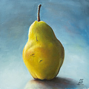 Pear Art - Pear by Anna Abramska