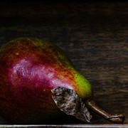 Pear Art Photo Prints - Pear Danjou Print by Constance Fein Harding