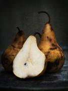 Pear Still Life Print by Edward Fielding