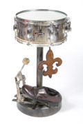 Drum Sculptures - Pearl Drum Table by Benjamin Bullins