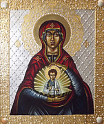 Orthodox Painting Framed Prints - Pearl Of great Price Framed Print by Fr Barney Deane