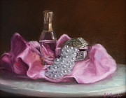 Treasure Box Painting Posters - Pearls Poster by Viktoria K Majestic