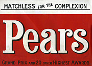 Featured Metal Prints - Pears  1907 1900s Uk Cc Logos Metal Print by The Advertising Archives