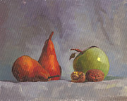 Tatyana Holodnova - Pears and an apple