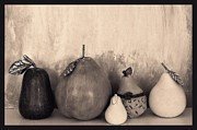 Assorted Digital Art Posters - Pears and Pears Poster by Marsha Heiken