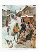 Featured Metal Prints - Pears Annual 1910s Uk Cc Villages Metal Print by The Advertising Archives