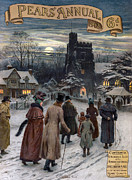 Nineteen-tens Art - Pears Annual 1913 1910s Uk Cc Villages by The Advertising Archives