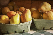 Barn Digital Art Metal Prints - Pears Metal Print by Caitlyn  Grasso