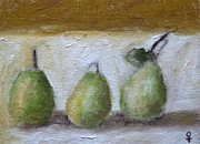 Fruit Tree Art Giclee Mixed Media Posters - Pears Poster by Venus