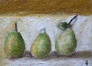 Pears Print by Venus