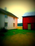 Farmlife Photos - Peasants place  by Hilde Widerberg