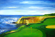 Sheri  Chakamian - Pebble Beach Golf course