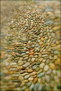 Pebbles  Print by Rick  Monyahan