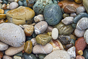 Cobblestone Prints - Pebbles Print by Stylianos Kleanthous