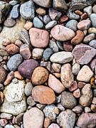 Pebbles Prints - Pebbly Beach Print by Hakon Soreide