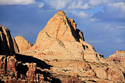 Utah National Parks Prints - Pectols Pyramid - Utah  Print by Aidan Moran
