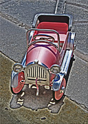 Peddle Car Photos - Peddle To A Tee by Chet King