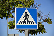 Crosswalk Photos - Pedestrian Signal by Stefano Piccini