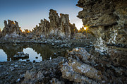 Mono Lake Framed Prints - Peek a Boo Framed Print by Scott McGuire