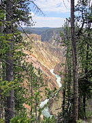 Wyoming Art - Peek-a-canyon by Mike Podhorzer
