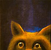 Lisbet Damgaard - Peeking fox