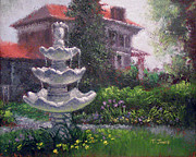 Arkansas Paintings - Peel Mansion by Timothy Jones