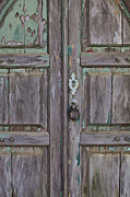 Paint Photograph Prints - Peeling Paint on a Medieval Wood Door of Portugal III Print by David Letts