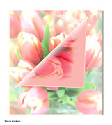 Stimulating  Colored Flower Prints - Peels Of Spring Print by Debra     Vatalaro