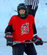 Pond Hockey Photos - PeeWee Select 1 by Rob Andrus