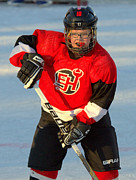 Pond Hockey Photos - PeeWee Select 2 by Rob Andrus
