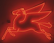 Flying Sculpture Prints - Pegasus Print by Pacifico Palumbo