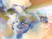 Pegasus Print by Ursula Freer