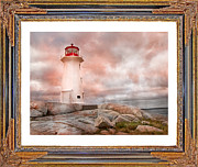 Lighthouse Digital Art - Peggys Beauty by Betsy A Cutler East Coast Barrier Islands