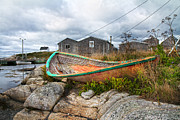 Green Color Art - Peggys Cove 13 by Betsy A Cutler East Coast Barrier Islands