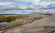 Modest Prints - Peggys Cove 24 Print by Betsy A Cutler East Coast Barrier Islands