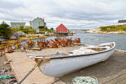 Net Photos - Peggys Cove 4 by Betsy A Cutler East Coast Barrier Islands
