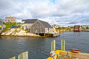 Peggy's Cove 6 Print by Betsy A  Cutler