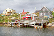 Peggy's Cove 7 Print by Betsy A  Cutler