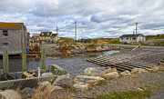Bouys Framed Prints - Peggys Cove 8 Framed Print by Betsy A Cutler East Coast Barrier Islands