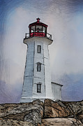 John Haldane - Peggys Cove Lighthouse...