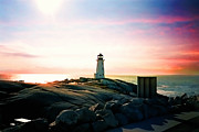 Elaine Manley - Peggys Cove Lighthouse